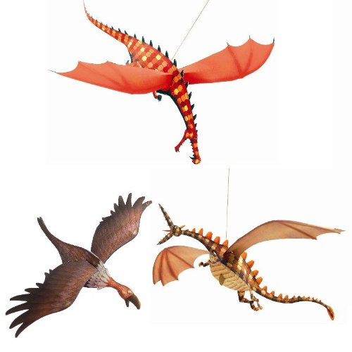 Djeco / Hanging Paper Decor, Merciless Dragons - 1