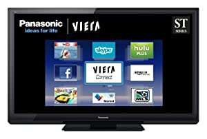 Panasonic VIERA TC-P50ST30 50-Inch 1080p 3D Plasma HDTV