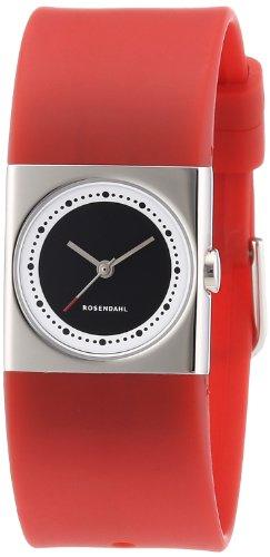 Rosendahl - 43262 - Montre Femme - Quartz - Analogique - Bracelet Caoutchouc rouge