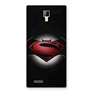 Gorgeous Premier Knight Vs Day Multicolor Back Case Cover for Micromax Canvas Xpress A99