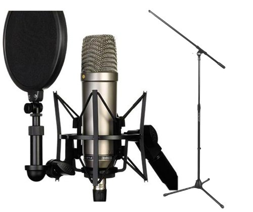 Rode NT1-A Cardioid Condenser Microphone Recording