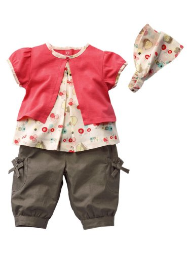 Little Hand Baby Girls' Clothes Outfits 3 Pcs Set front-541641