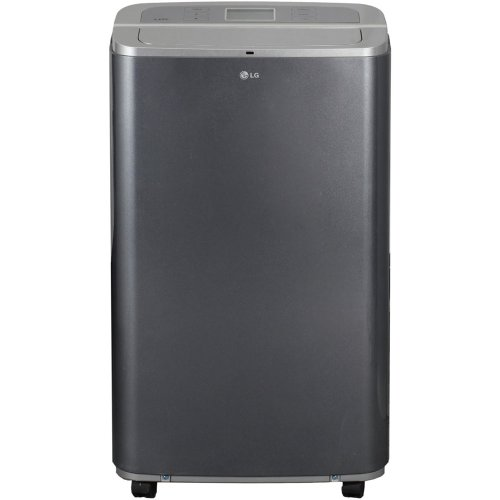 LG Electronics LP1311BXR 13,000 BTU Portable Air Conditioner with Remote Control - Black/Metallic Silver