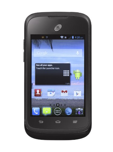 ZTE Whirl Android Cell Phone - No contract (Net 10)