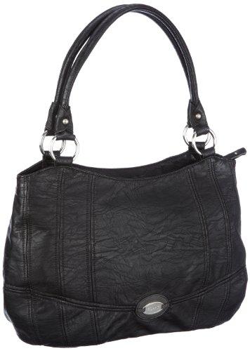 ESPRIT Wilma W15053, Damen Shopper, Schwarz (black 001), 28x38x12 cm (B x H x T)