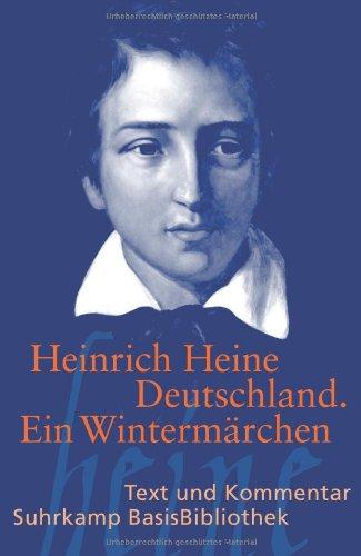Buchseite und Rezensionen zu 'Deutschland. Ein Wintermärchen (Suhrkamp BasisBibliothek)' von Heinrich Heine
