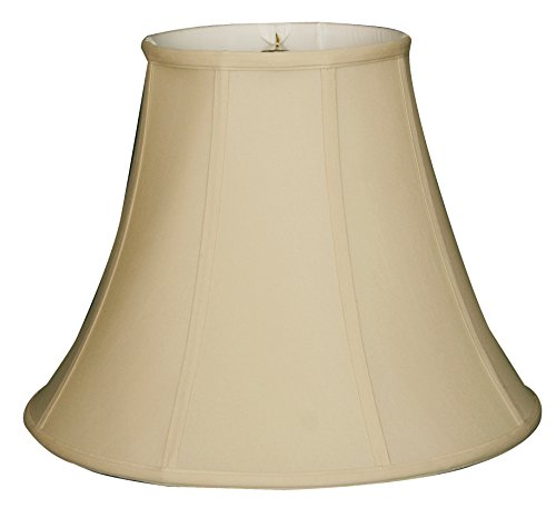 Royal Designs True Bell Lamp Shade, Beige, 6.5 x 12 x 10.5 (BSO-704-12BG)