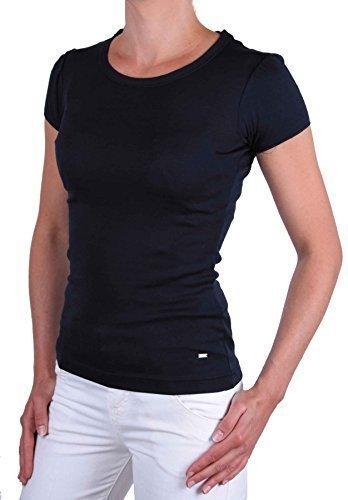 Tommy Hilfiger donna maglietta Maglia A Maniche Corte Maddy Blu Tgl XS #1 - cotone, blu scuro, 100 % 100% cotone cotone, Donna, XS