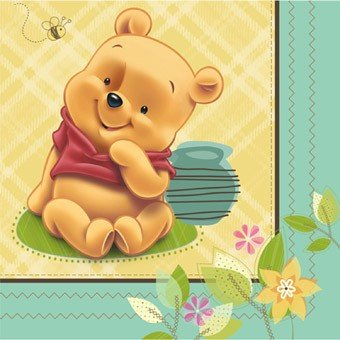 Winnie the Pooh 'Baby Pooh' Small Napkins (16ct)