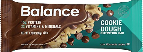 Balance Bar® Cookie Dough, 1.76 ounce bars, 6 count (Protein Cookie Dough compare prices)