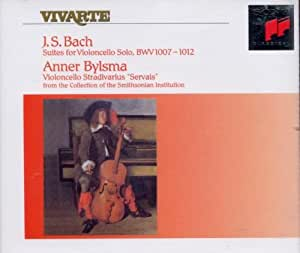 Bach: 6 Suites for violoncelle solo BWV 1007-1012
