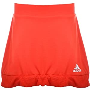 Adidas Adizero Ladies Ladies Tennis Skort Skirt - Orange by adidas