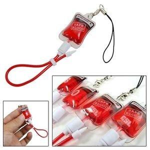blood bag key chain type o automotive
