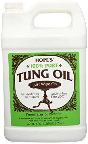hope-company-128to2-100-pure-tung-oil-1-gallon