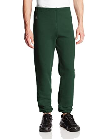 Russell Adult Sweatpants, Dark Green, Medium