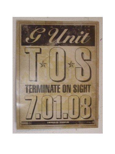 G Unit Poster Double Sided G-Unit G. TOS 50 Cent (G Unit Tos compare prices)