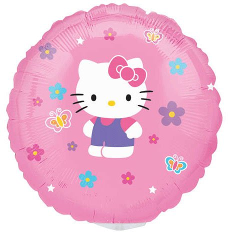 """9"""" Mini Balloon (Airfill Only) Hello Kitty"""