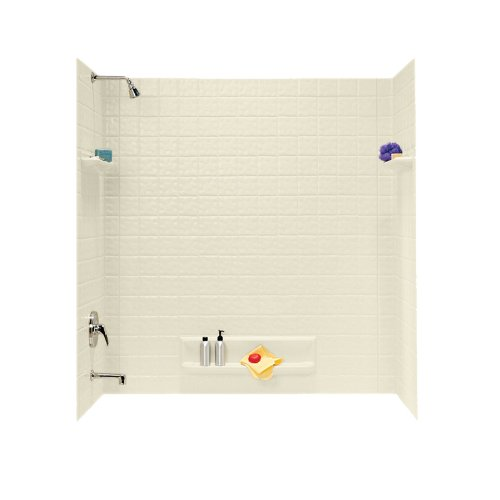 Discover Bargain Swanstone TI-5-037 Veritek Five Panel Tub Wall Kit, Bone Finish