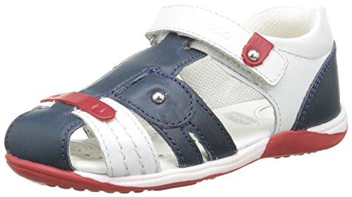 ChiccoSandale Hicolas - Sandali alla caviglia con punta chiusa Bambino , Blu (Bleu (800)), 21