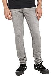RUDE Grey Vintage Skinny Jeans