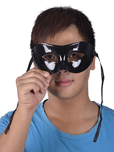 Simplicity Men and Women Masquerade Mask, Half Masks in Solid Color