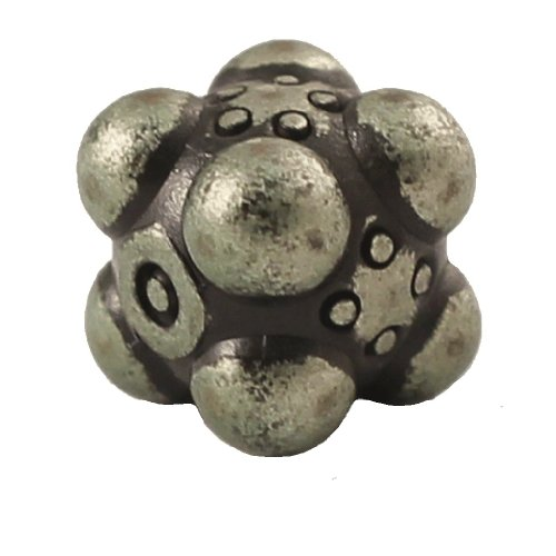 1 (One) Single IronDie: Solid Metal Italian Dice - Green Nullifier (Die-Cast Designer Six-Sided Die / d6) - 1