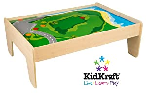 Kidkraft Train Table - Natural by KidKraft
