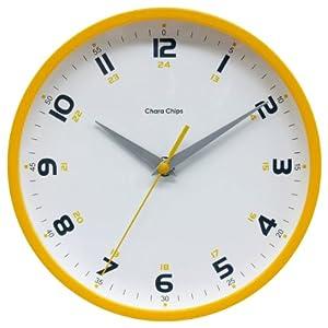 Chara Chips (キャラチップス)  連続秒針 アナログクォーツ掛け時計 CCU10Y