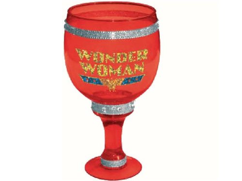Wonder Woman Bling Goblet