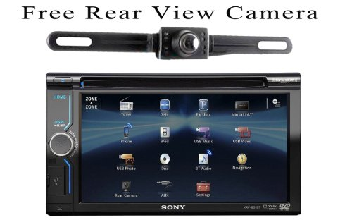 on sale sony xav601bt a v receiver bluetooth free rear view camera best buy and get low price. Black Bedroom Furniture Sets. Home Design Ideas