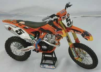 New Ray Toys Offroad 1:12 Scale Motorcycle - 2014 KTM 450SX-F Ryan Dungey/Red Bull 57637 (Die Cast Dungey Red Bull compare prices)