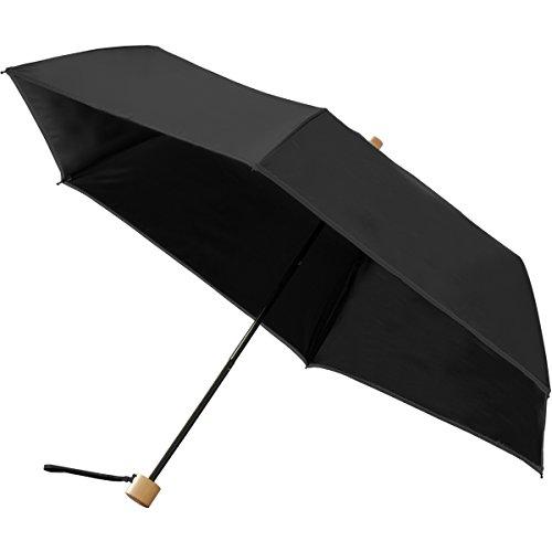 FIELDOOR 折りたたみ日傘 親骨50cm 【ブラック】 (UVカット/UPF50+/完全遮光/遮熱加工)
