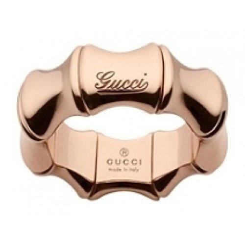 Anello Gucci BAMBOO YBC246462003014 Oro Rosa