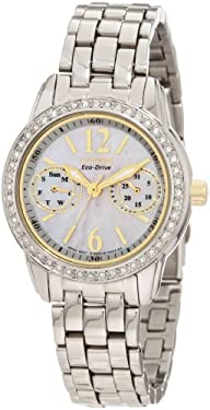 Citizen Women's FD1034-55D Eco-Drive Silhouette Crystal Watch