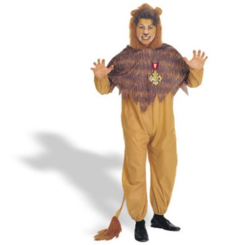 Rubies Costumes Mens The Wizard Of Oz - Cowardly Lion Adult Costume