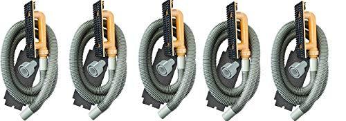 Hyde Tools 09165 Dust-Free Drywall Vacuum Hand Sander with 6-Foot Hose, 6' (5) (Tamaño: 5)
