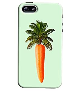 Blue Throat Carrot Tree Hard Plastic Printed Back Cover/Case For Apple iPhone 6 Plus