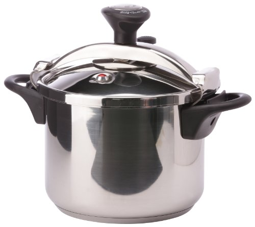 Lacor-71876-6 LTS. CLASSIC BRIDGE PRESSURE COOKER