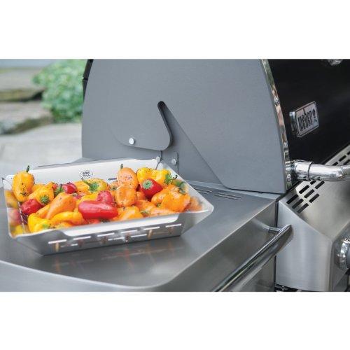weber 6434 gem sekorb aus edelstahl gro alles zum grillen dein grill shop. Black Bedroom Furniture Sets. Home Design Ideas