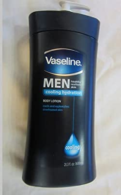 Best Cheap Deal for Vaseline Men Healthy Resilient Skin Colling Hydration Body Lotion Cools and Replenishes Overheated Skin 20.3 oz. from Vaseline - Free 2 Day Shipping Available