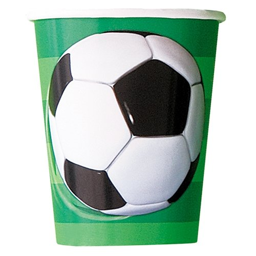 9oz Soccer Party Cups, 8ct