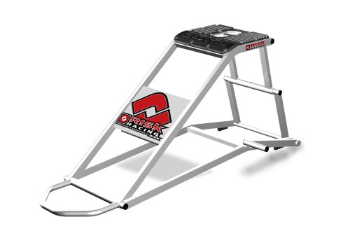 Risk Racing 77-829 RR1 Ride On Silver Full Size Motocross Lift Stand