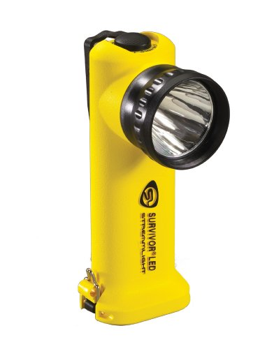 Streamlight 90512 Survivor Led Flashlight With Ac Fast Charger, Yellow