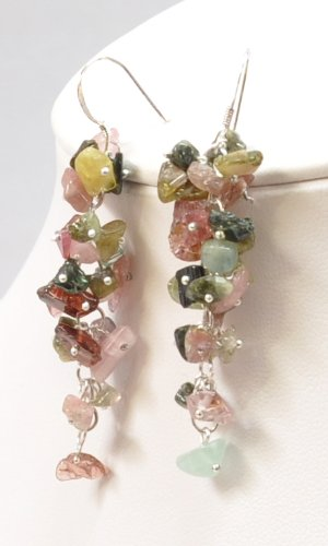 Dangle Mixed Stone Earring