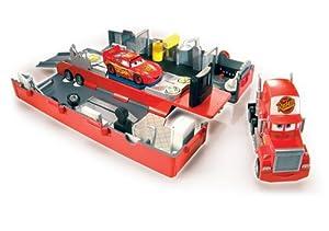 Mattel - Disney Cars M8116-0 - Cars Mack Truck Fahrzeug Spielset