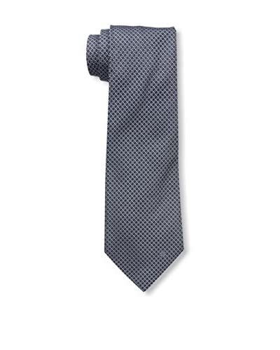 Givenchy Men's Micro Check Tie, Navy