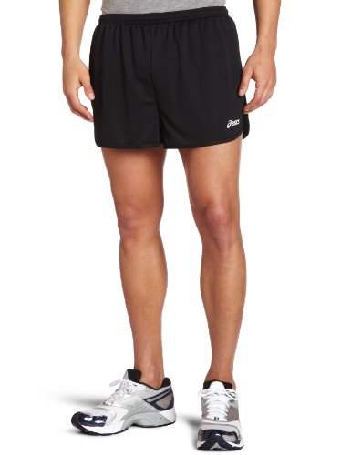 ASICS ASICS Men's Propel 1/2 Split Short, Black, Medium