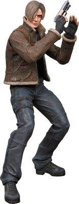 Resident Evil 4 action figure Leon jacket wear
