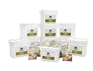 Freeze Dried Survival Food Storage: 1080 Large Servings - 277 Lbs - Emergency... by Legacy Premium Food Storage