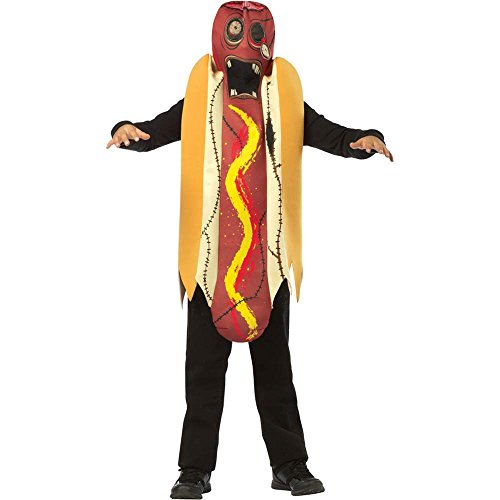 Zombie Hot Dog Kids Costume - 7-10
